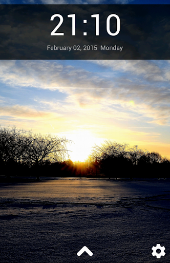 Winter Lock Screen