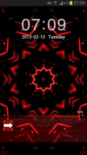 GO Locker Theme Red Black Buy