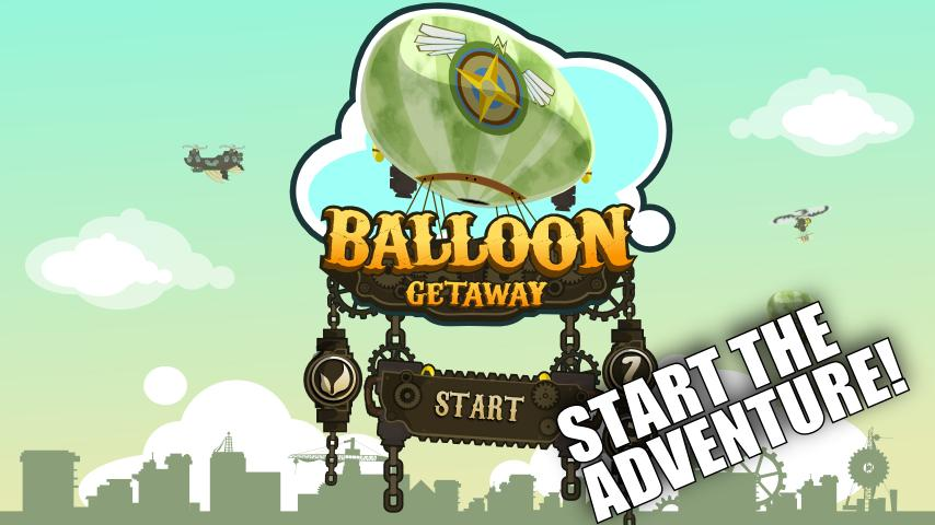 Balloon Getaway Lite - screenshot