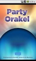 Screenshot of Party Orakel