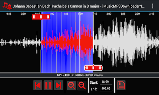 Mp3 Ringtone Maker - screenshot thumbnail