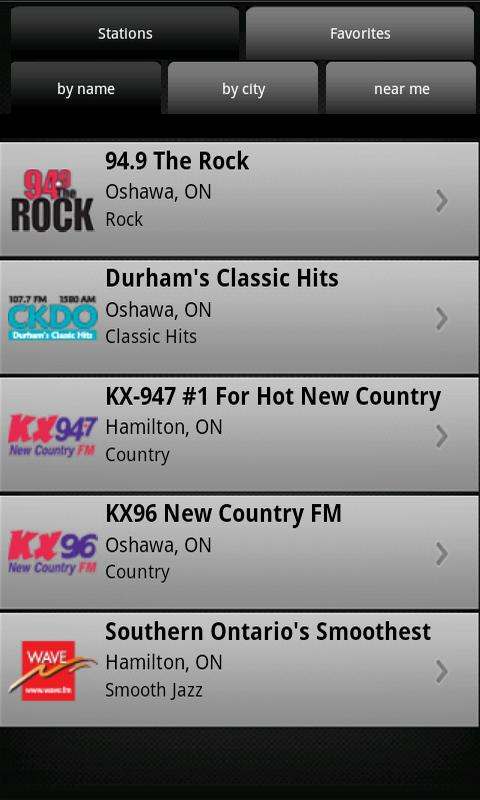 Durham Radio- screenshot