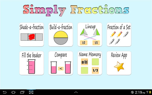Simply Fractions Lite Math