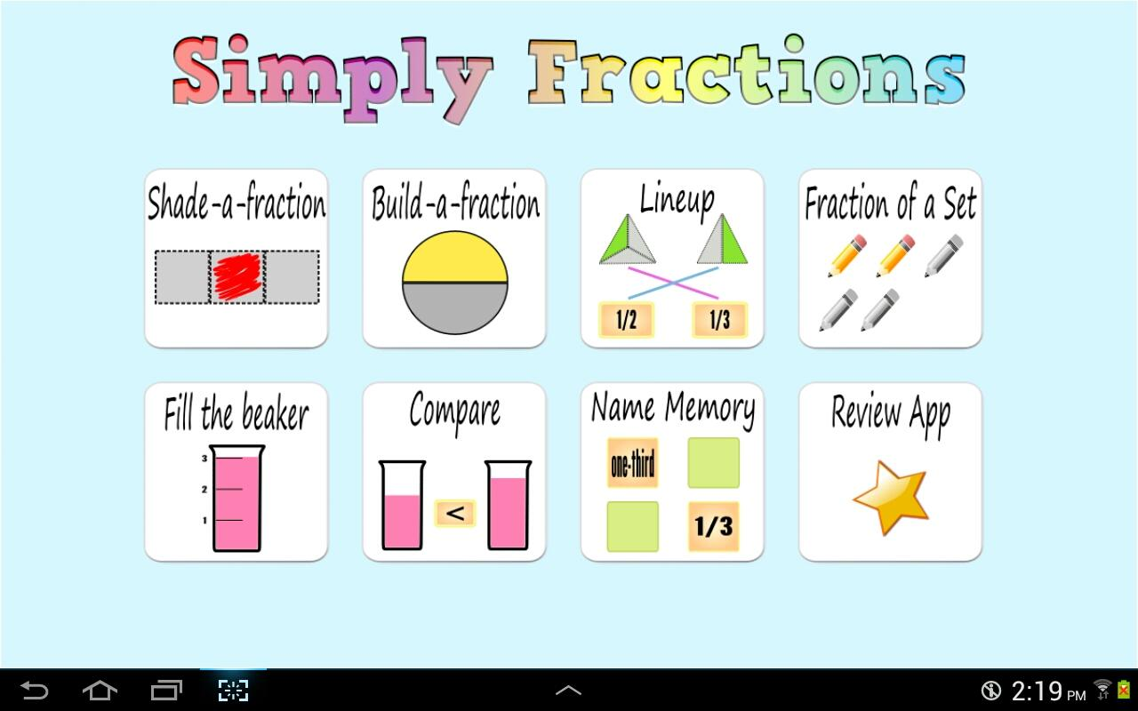 Simply Fractions (Lite), Math - Android Apps on Google Play