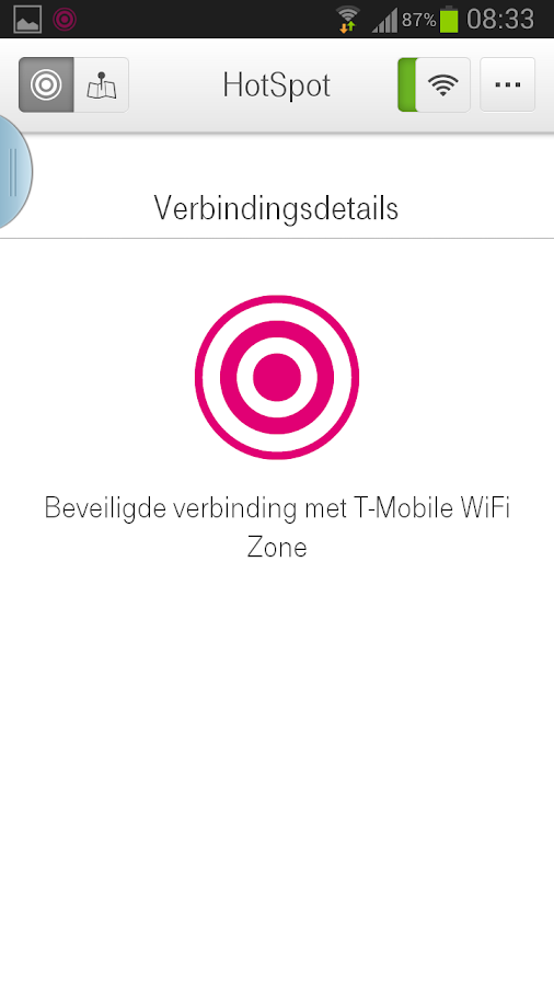 T-Mobile Hotspot Login - screenshot