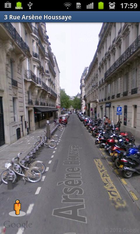 Paris by bike - screenshot