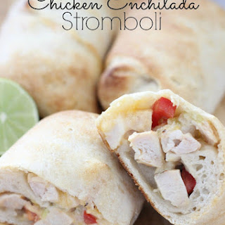 Chicken Enchilada Stromboli