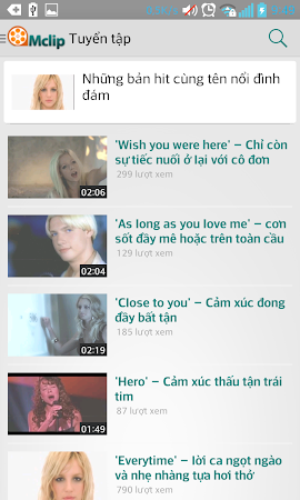 Mclip – Xem, tải Video Viettel 2.3 screenshot 334457