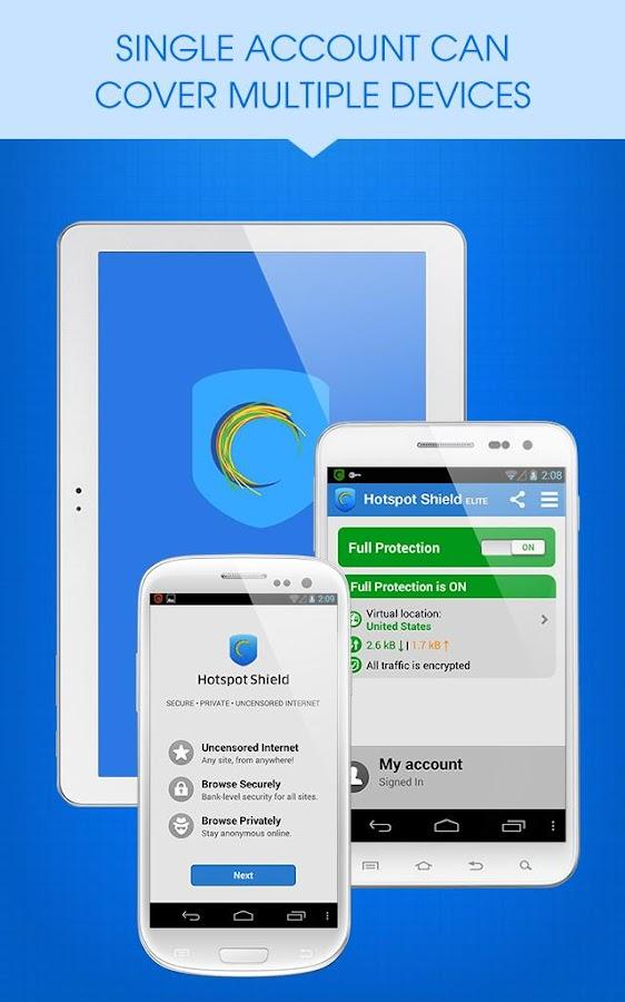 Hotspot shield free vpn proxy google play