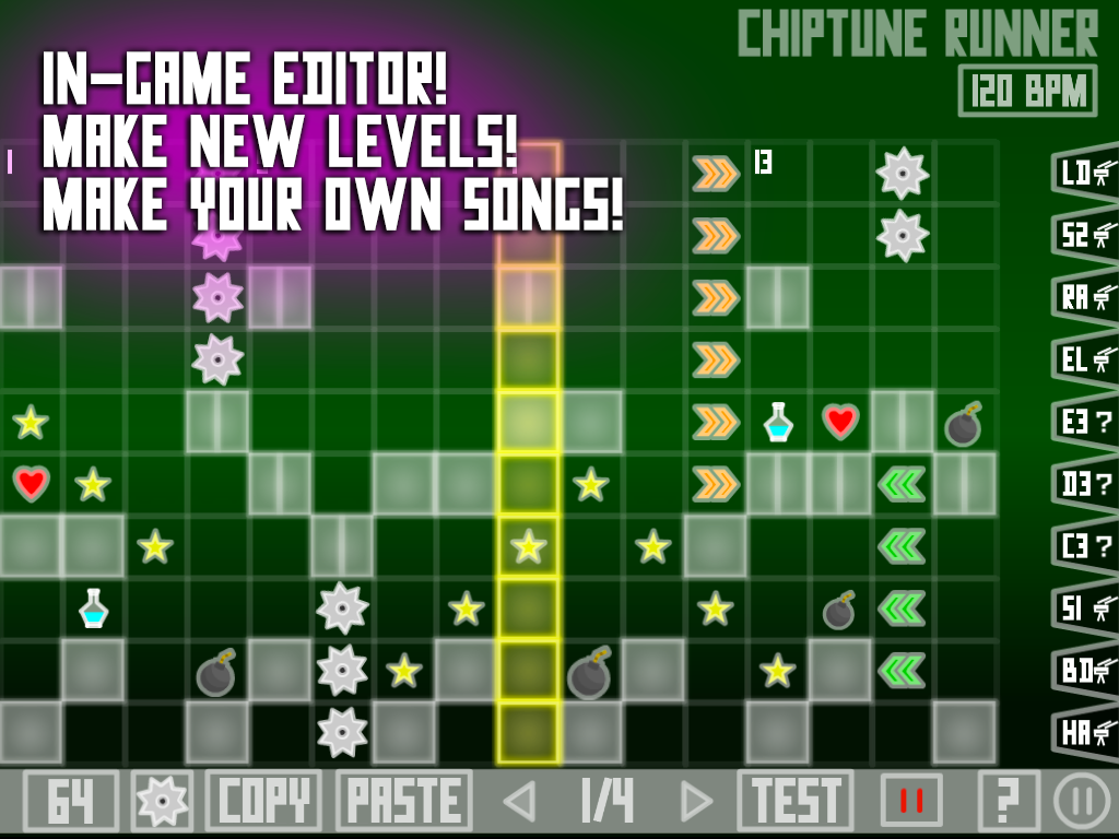 Chiptune Runner- screenshot
