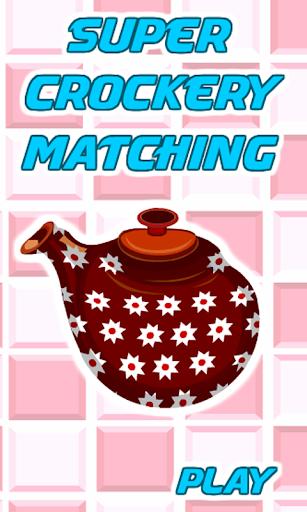 Matching Super Crockery