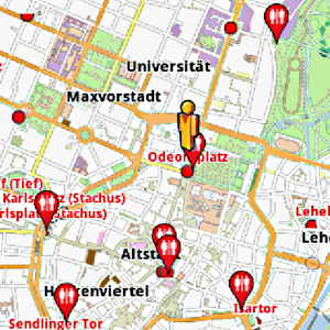 Munich Amenities Map (free)