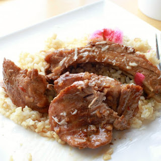 Slow Roasted Pork Adobo.