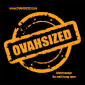 OVAHSIZED well hung gay men