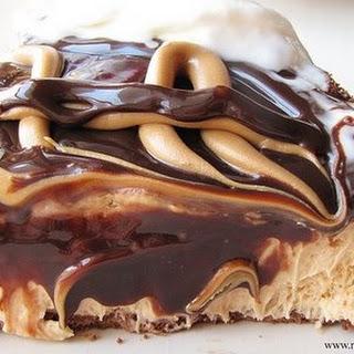 Hot Fudge Peanut Butter Pie