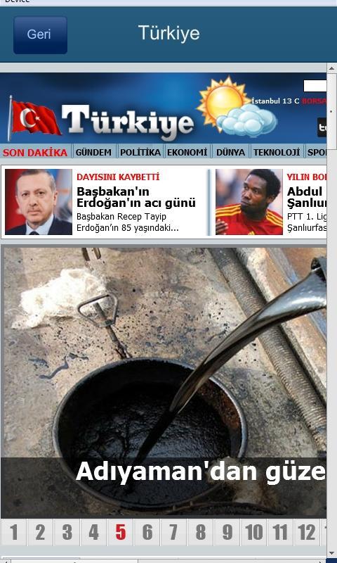 Gazetem- screenshot
