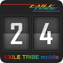 EXILE TRIBE mobile Clock logo