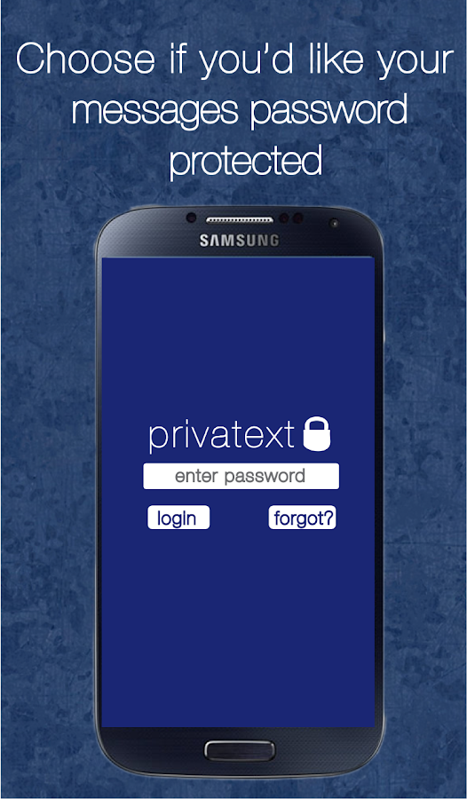 Privatext - Private Messaging - screenshot
