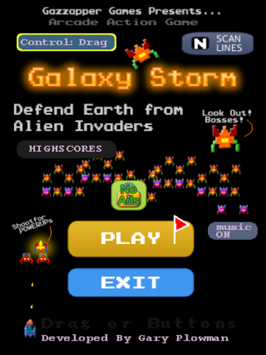 Galaxy Storm - Galaxia Invader (Space Shooter) 2.08 {cheat|hack|gameplay|apk mod|resources generator} 5
