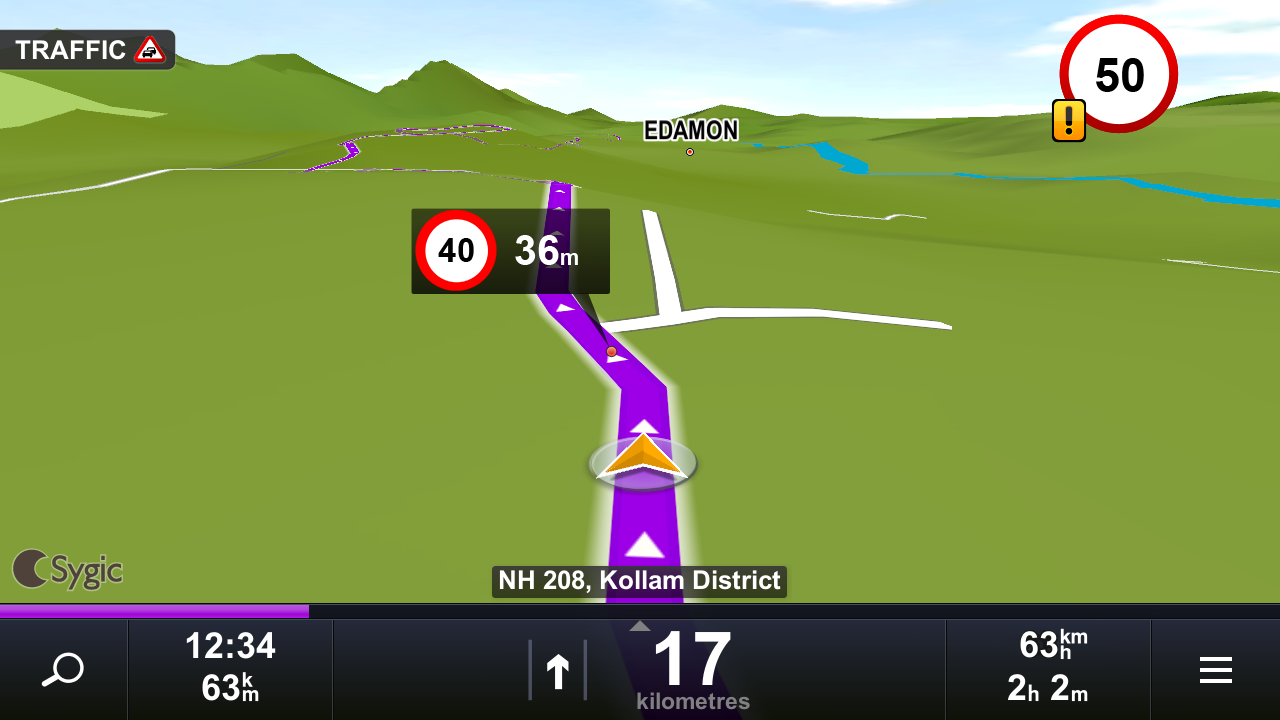 India GPS Navigation by Sygic - screenshot