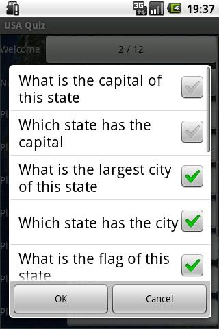 USA Geo Quiz - screenshot