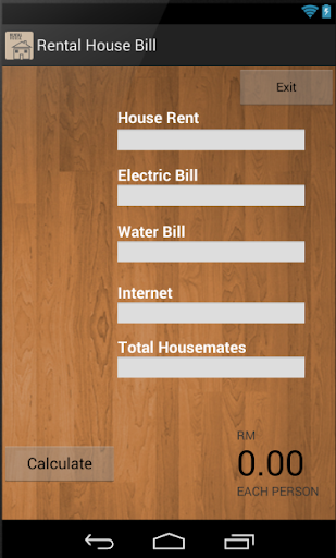 Rental House Bill