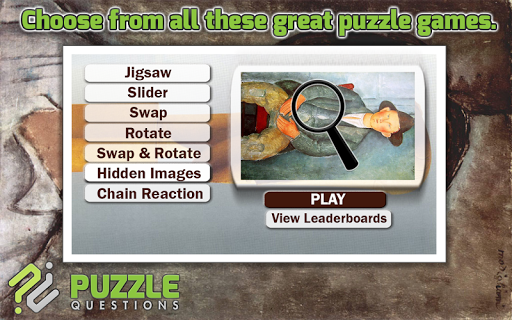 Free Amedeo Modigliani Puzzles