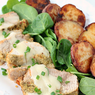 Cornbread-Stuffed Turkey Roast and No-Fail Roasted Potatoes.