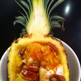 Dessert- Pineapple-Banana.