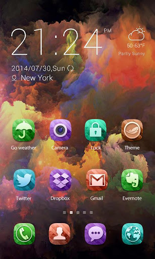 Color X Theme - ZERO launcher