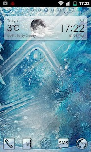 Winter Ice Go Launcher Theme - screenshot thumbnail