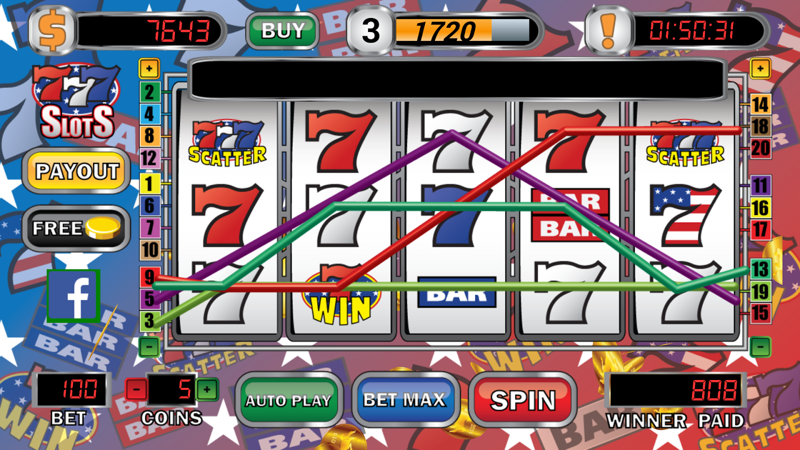 triple 7 slot machines