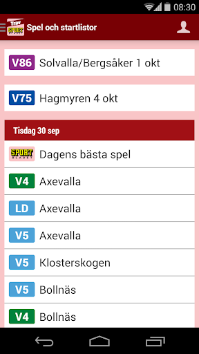 Sportbladet Trav