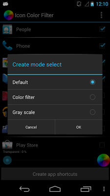 Icon Color Filter Lite - screenshot