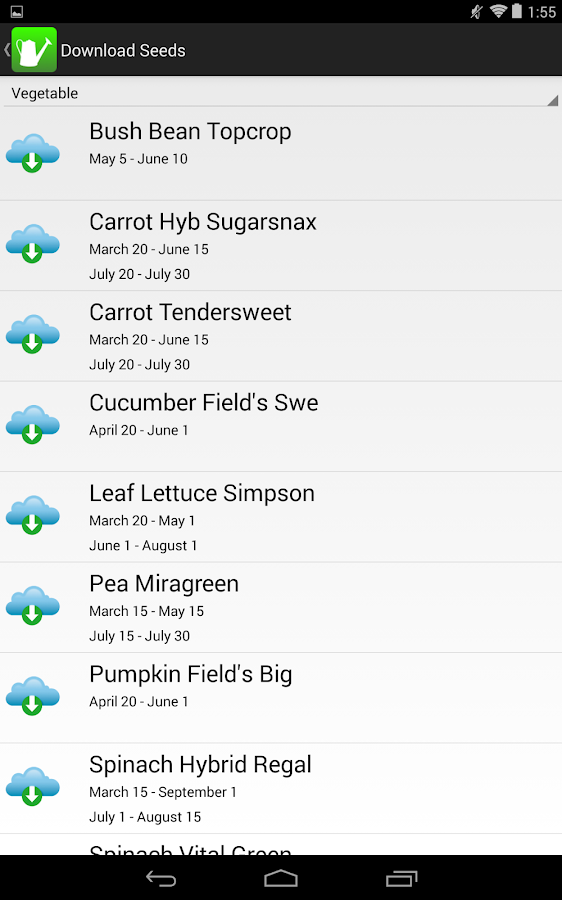 iGarden USA Gardening Helper- screenshot