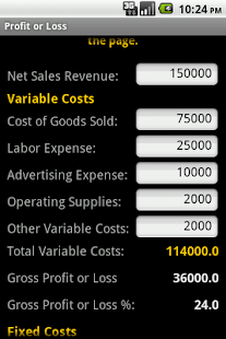 Profit or Loss - screenshot thumbnail