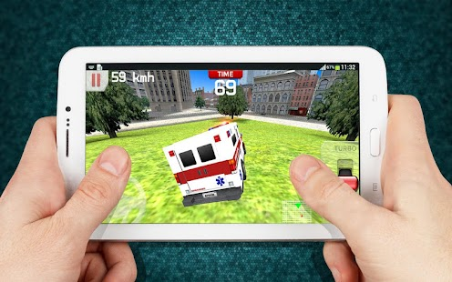 Emergency Ambulance Driving 3D- screenshot thumbnail
