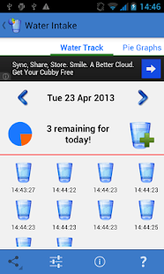 Water Intake Tracker Free - screenshot thumbnail