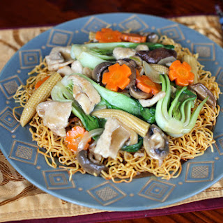 Crispy Chow Mein Noodles Recipes.