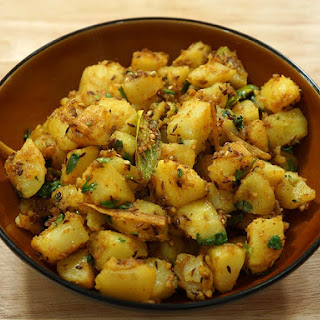 Aloo Jeera (Potatoes with Cumin Seeds) Recipe