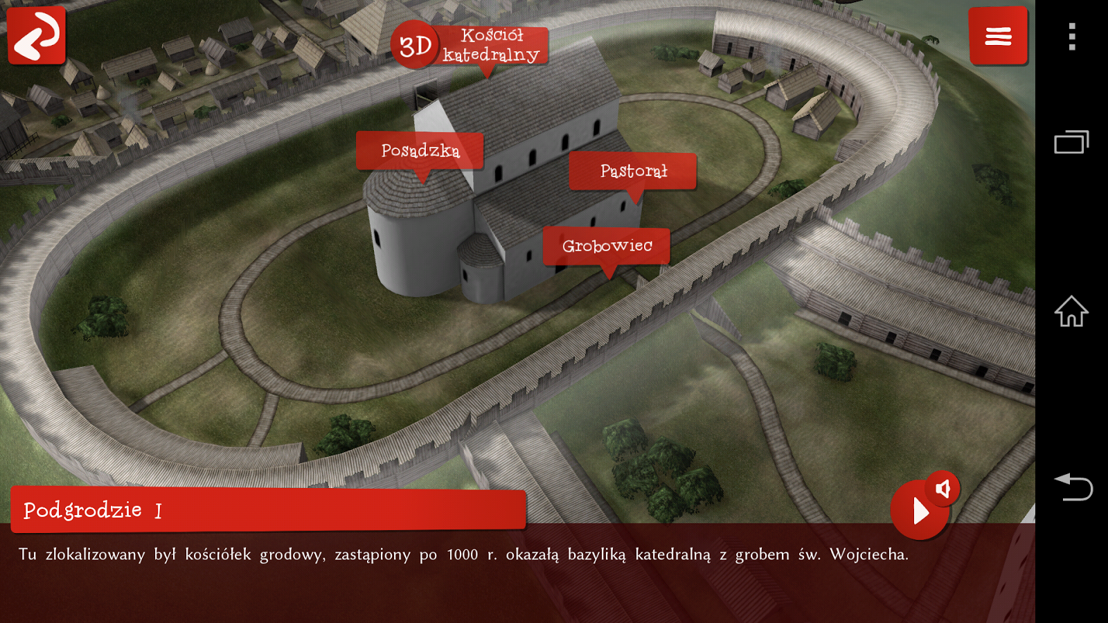 Gniezno 3D- screenshot