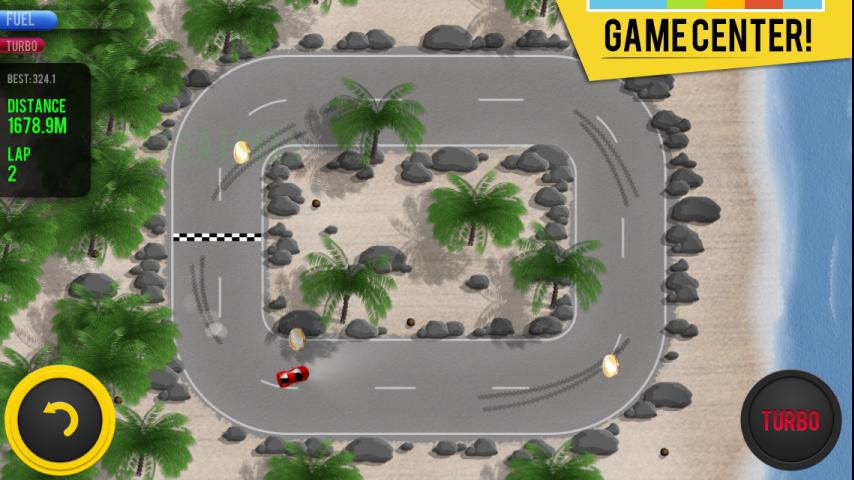 Micro Racing - cars challenge- screenshot