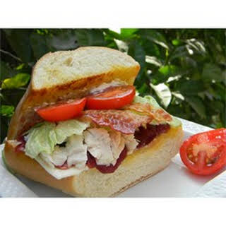 Turkey Sandwiches with Cranberry Sauce.