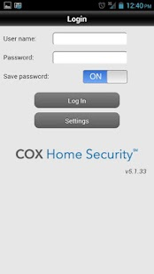 Cox Home Security - screenshot thumbnail