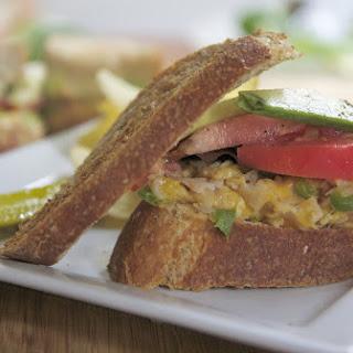 Hot Turkey & Cheese Sandwich.
