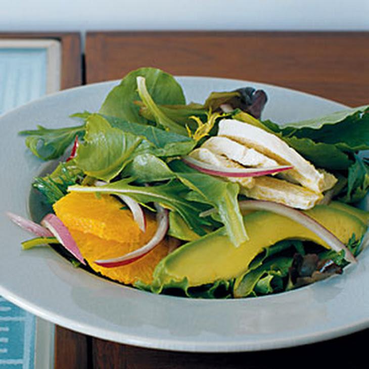 Chicken, Avocado, and Orange Salad Recipe