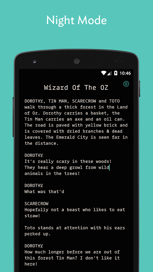 JotterPad (Writer) - screenshot