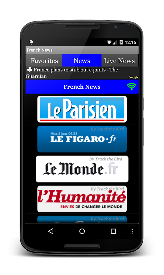 All French News Live Papers- screenshot