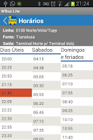 Screenshot of WBus Joinville Lite