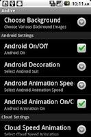 Screenshot of Andive Free Live WallPaper